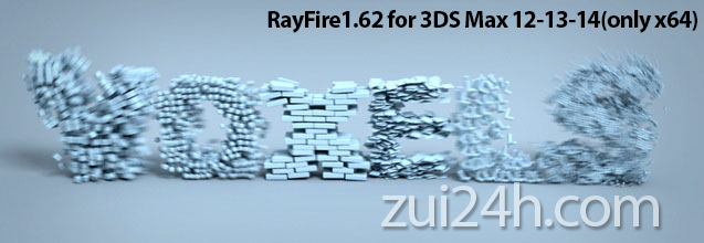 3Ds Max 2018 RayFire 2018 x64